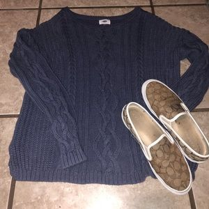 EUC Old Navy cable knit sweater XL